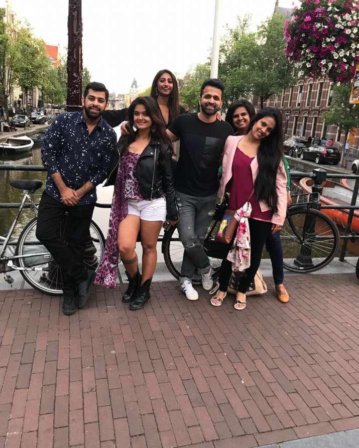 India Tv - Yeh Rishta Kya Kehlata Hai actress Mohena Kumari Singhi's bachelorette photos from Amsterdam