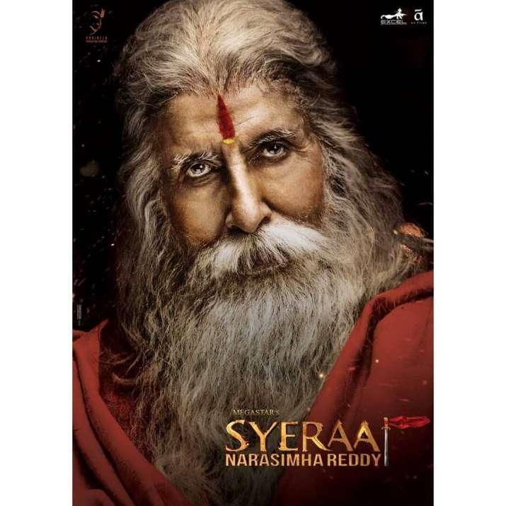 India Tv - Amitabh Bachchan in Sye Raa Narasimha Reddy