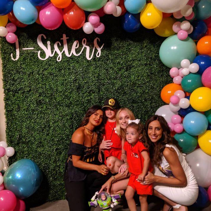 India Tv - Priyanka Chopra shares adorable family pictures with Nick Jonas, Joe and Sophie Turner