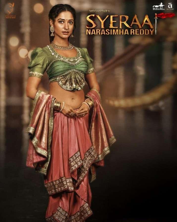 India Tv - Tamannaah Bhatia in Sye Raa Narasimha Reddy