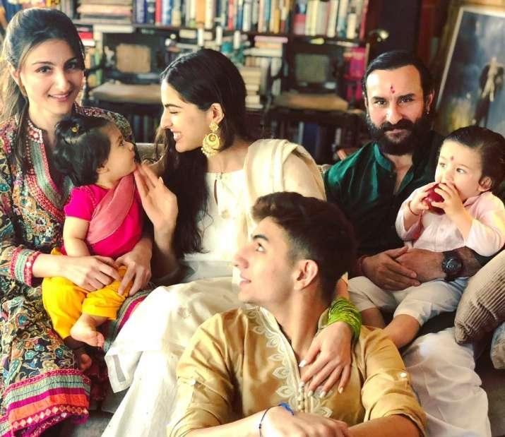 India Tv - Soha Ali Khan shares throwback Rakhi picture