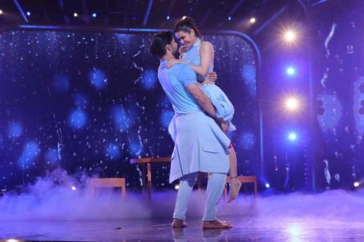 India Tv - Madhurima Tuli and Vishal Singh get eliminated from Nach Baliye 9
