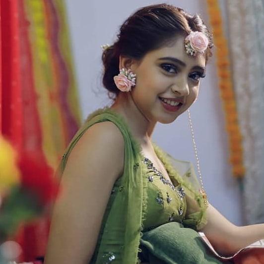 India Tv - Niti Taylor Mehendi ceremony