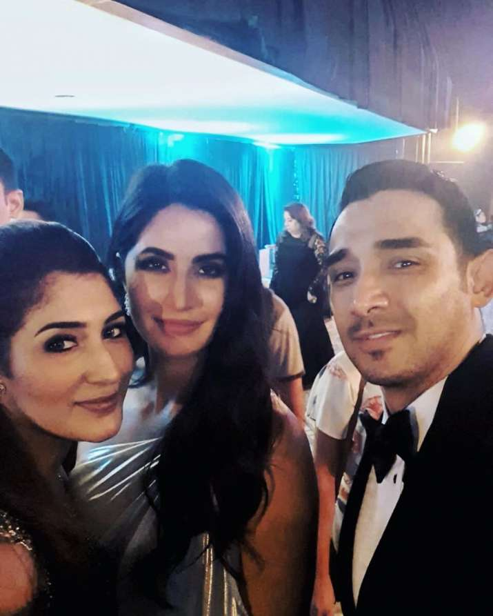 India Tv - Katrina Kaif with the Bride and Groom in Bali