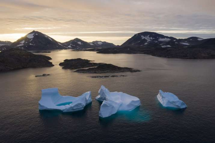 India Tv - Greenland in Melting: Pictures from Atlantic show how climate change is real