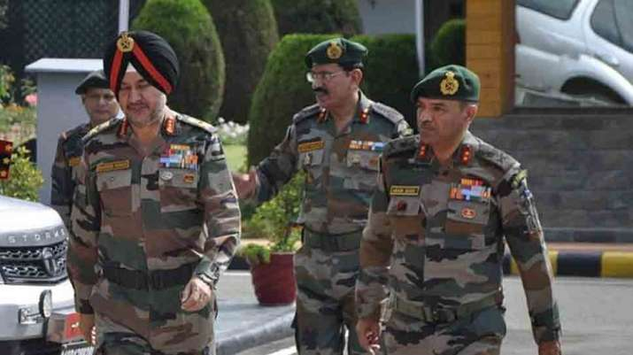 Northern Army commander Lt Gen Ranbir Singh