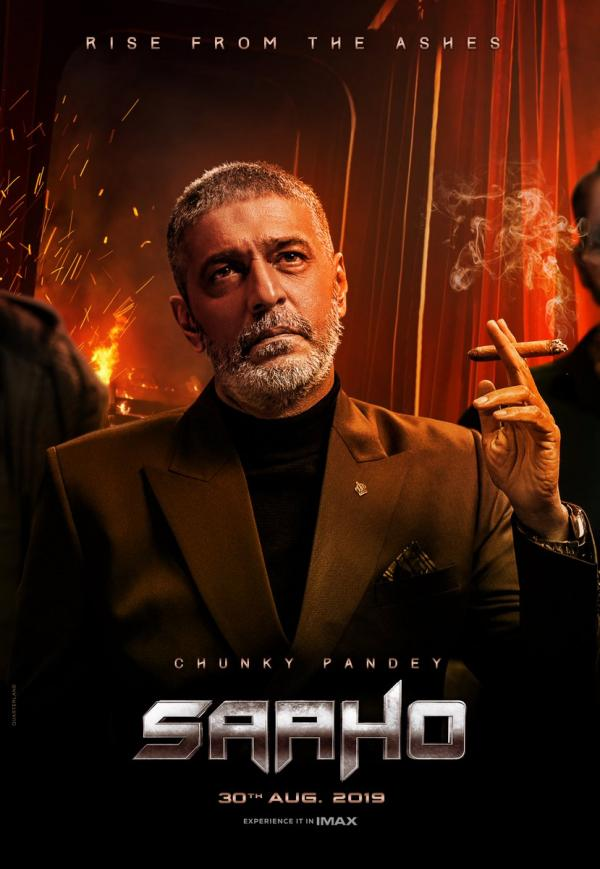 India Tv - Saaho: Chunky Pandey's first look from Prabhas, Shraddha Kapoor starrer out, here's how Ananya Panday reacted