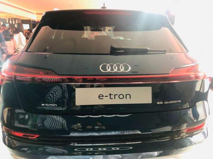 India Tv - Audi e-tron rear view