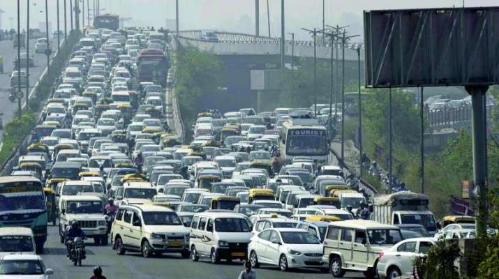 Sushma Swaraj's cremation: Traffic jams reported in central