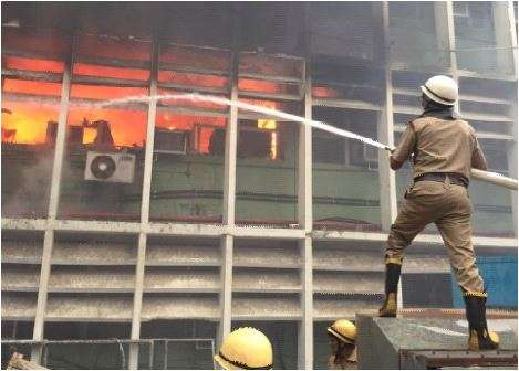India Tv - AIIMS fire