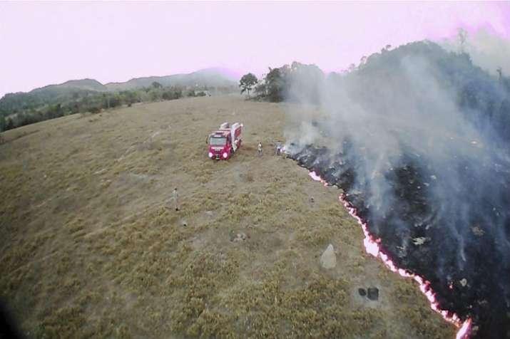India Tv - Amazon Rainforest is burning