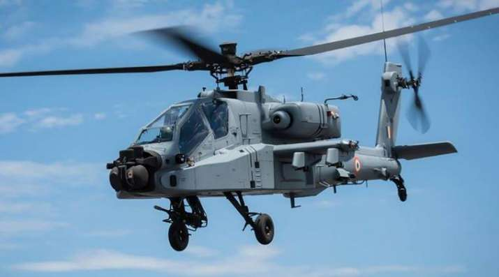 Apache attack helicopters to be inducted into IAF at