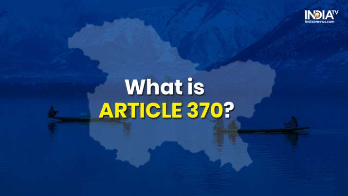 India revokes Article 370 in Jammu and Kashmir. What it
