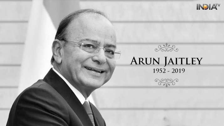 Arun Jaitley: A timeline