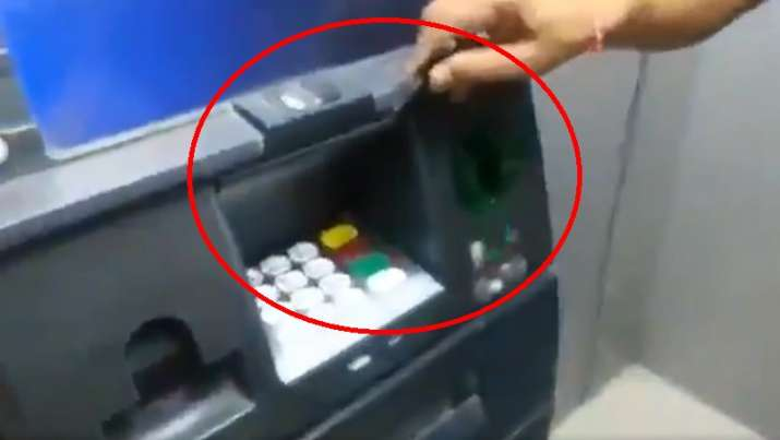 India Tv - Bank ATM skimming: Visit bank ATMs for withdrawing cash? A video you must watch to save yourself from fraud