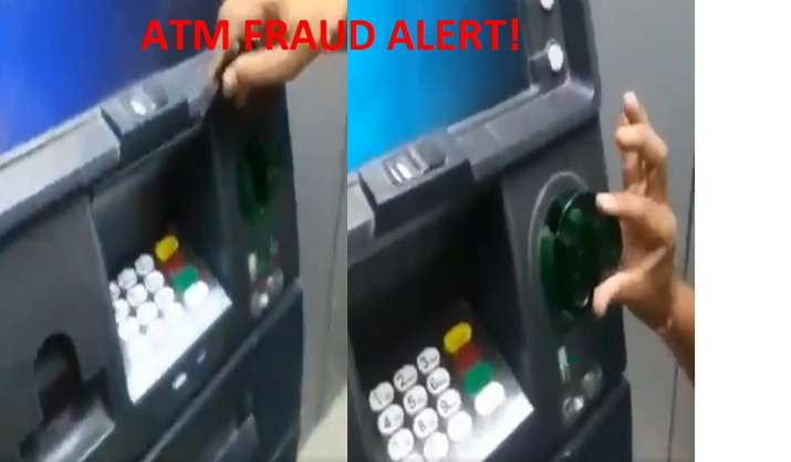 Bank ATM skimming: Visit bank ATMs for withdrawing cash? A