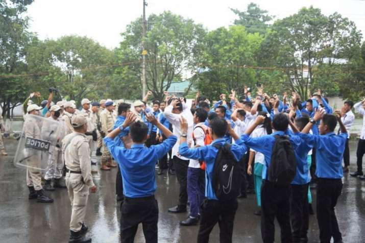 Babysana death case: Several students injured after protest