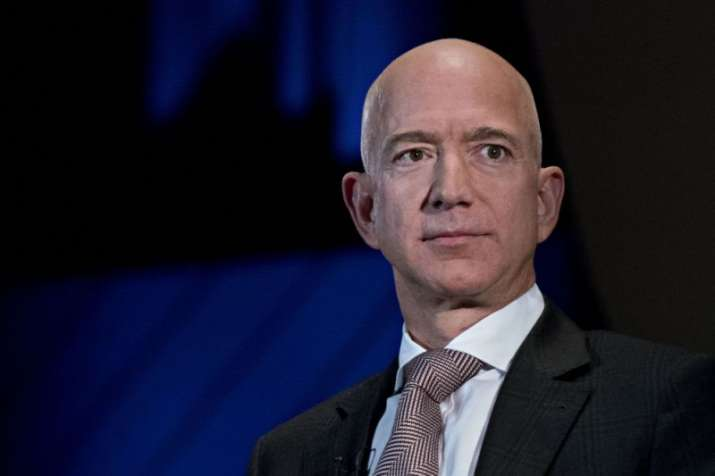 The world's richest man, Amazon.com Inc.founder Jeff Bezos