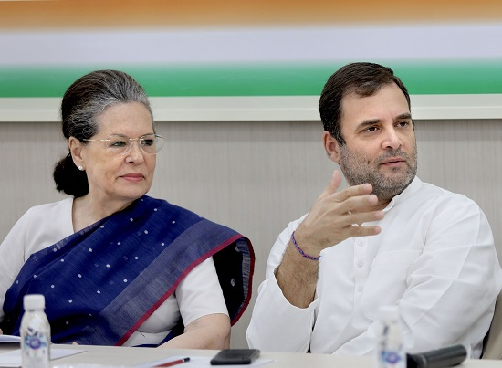 Sonia Gandhi emerges as unanimous choice for Congress
