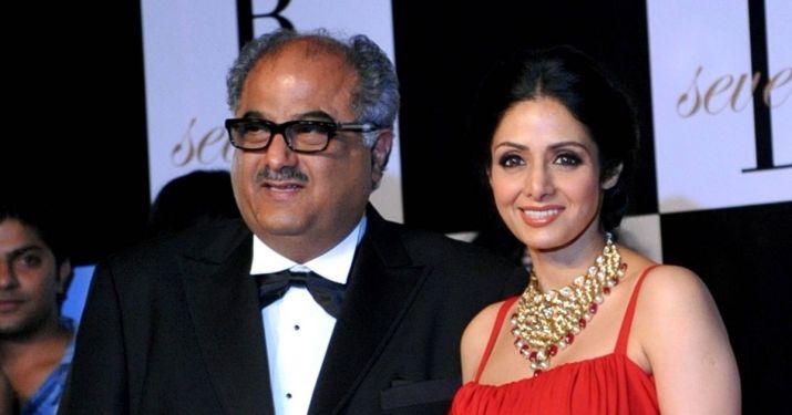 India Tv - Boney Kapoor and Sridevi