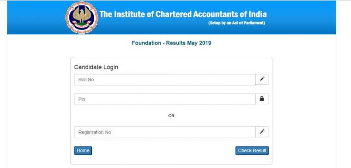 ICAI CA Final, CA Foundation results 2019 declared  Direct