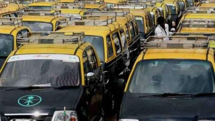Goa taxis on strike