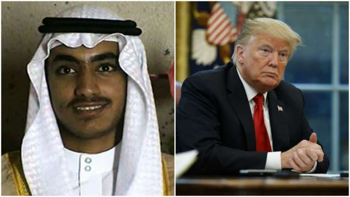 Hamza bin Laden and US President Donald Trump