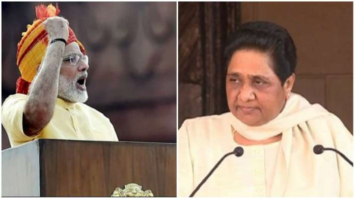 PM Narendra Modi and BSP Supremo Mayawati