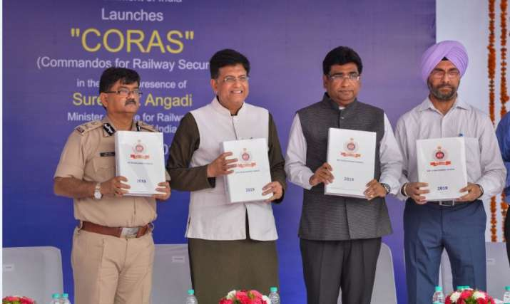 Railways gets commando security, Piyush Goyal inducts first batch of CORAS