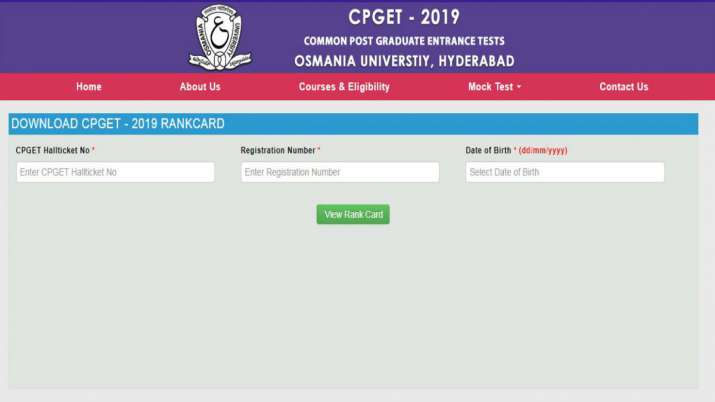 CPGET 2019