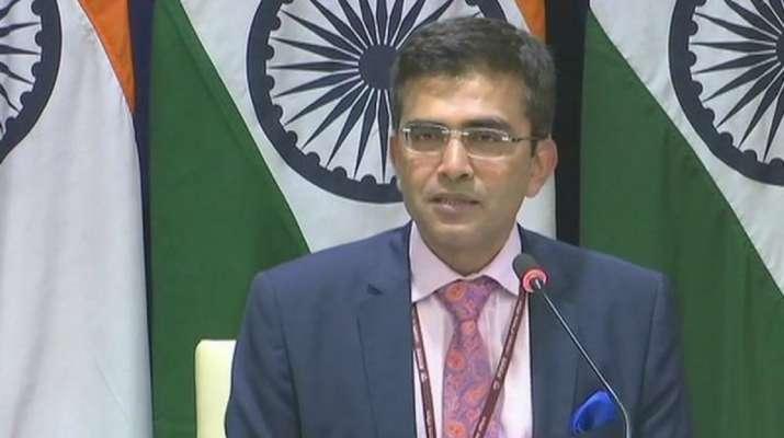 No role for third party in Kashmir issue, says MEA on Trump's fresh offer for help