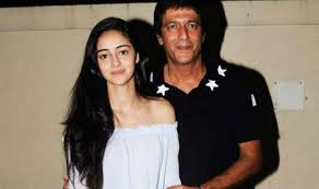 India Tv - Ananya Pandey with father Chunky Pandey