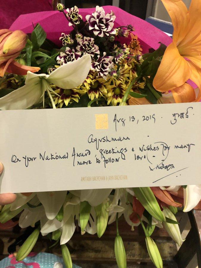 India Tv - Amitabh Bachchan's heartfelt notes for Ayushmann Khurrana & Vicky Kaushal