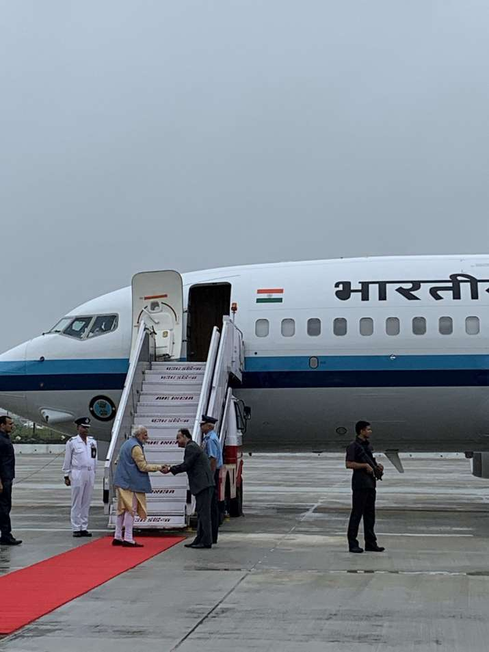 Modi leaves for Bhutan on two-day visit