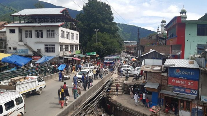 India Tv - Jammu and Kashmir returning to normal