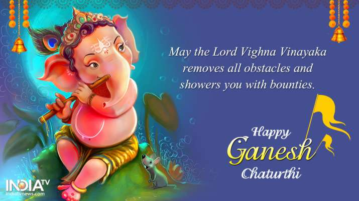 India Tv - Ganesh Chaturthi 2019: HD Images, Best Wishes, Quotes of Lord Ganesha to share on WhatsApp and Faceb