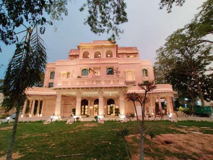 New eco-friendly Garvi Gujarat Bhavan, a fine example of