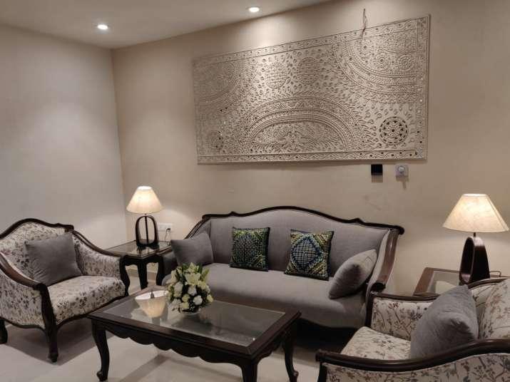 India Tv - New eco-friendly Garvi Gujarat Bhavan, a fine example of fine architecture, indigenous handicrafts