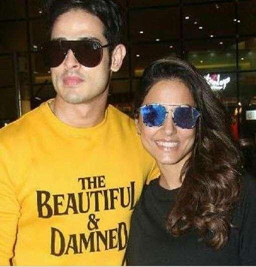 India Tv - Hina Khan, Priyank Sharma met on the reality show Bigg Boss 11.