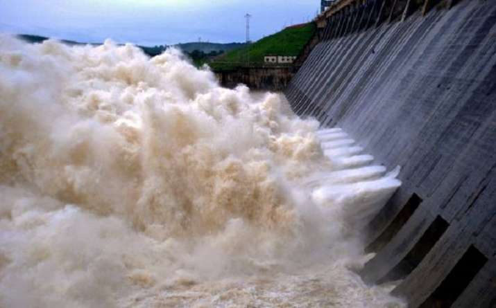 20 gates of Hirakud Dam opened to release excess water