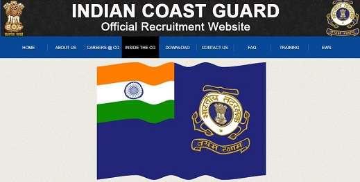 Indian Coast Guard Recruitment 2019 ICG jobs yantrik vacancies