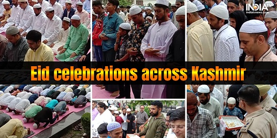 Eid al-Adha celebrated peacefully across Jammu and Kashmir
