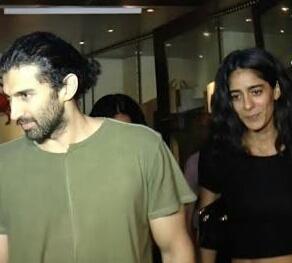 India Tv - Aditya Roy Kapur and Diva Dhawan