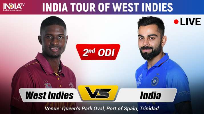India Vs West Indies 2nd Odi Watch Ind Vs Wi Live Cricket