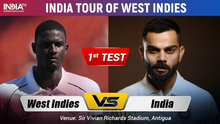 India Vs West Indies 1st Test Day 3 Watch Live Cricket