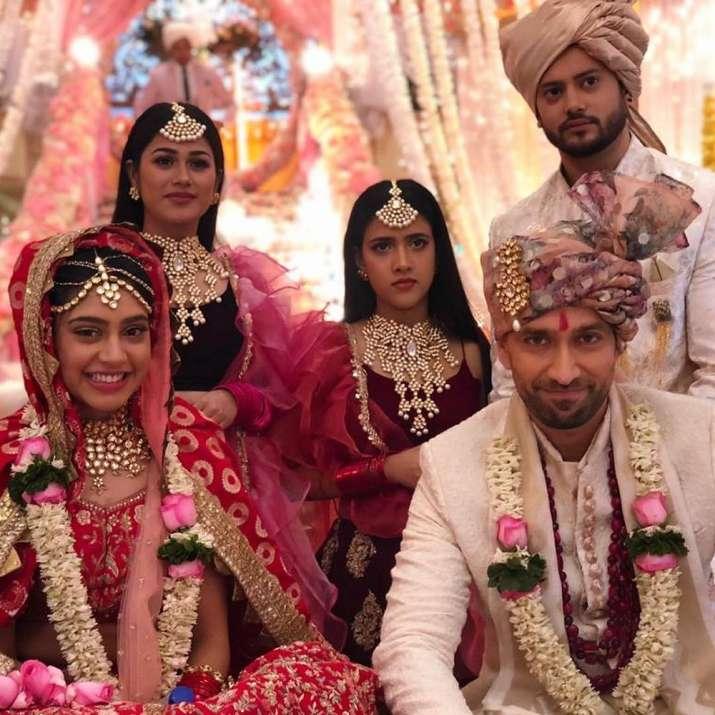 India Tv - Niti Taylor in Ishqbaaaz