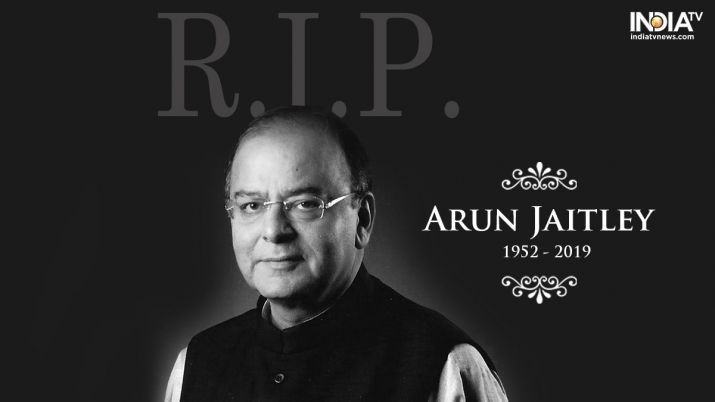 Arun Jaitley is survived by his wife Sangeeta, daughter