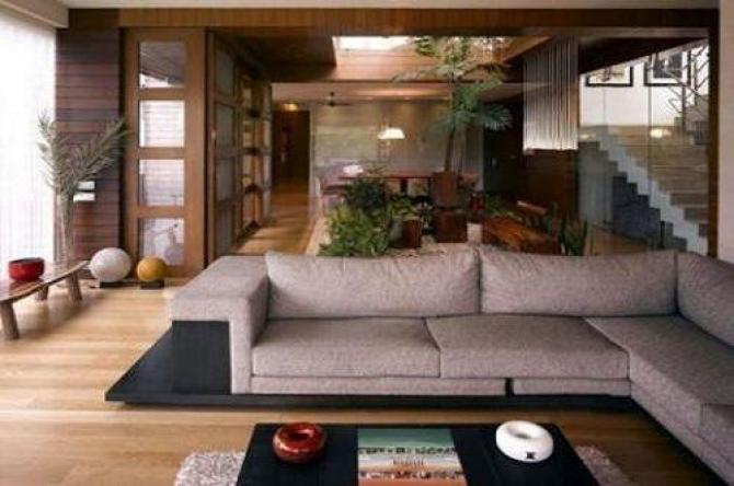 India Tv - Living area at Amitabh Bachchan's home Jalsa.