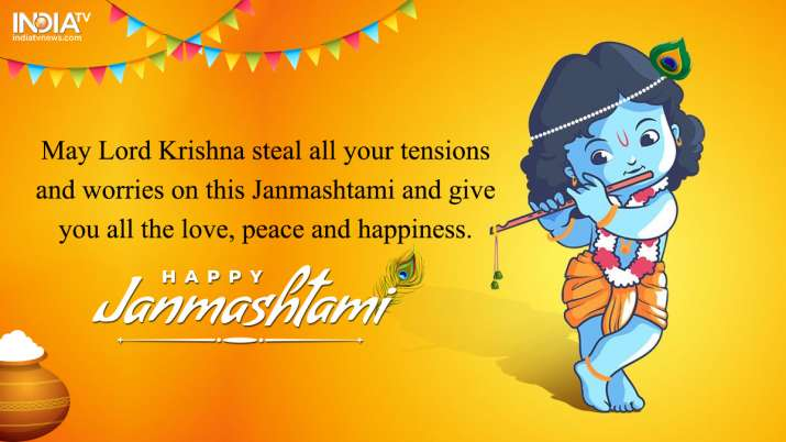 India Tv - Happy Krishna Janmashtami 2019: Best Wishes, Quotes, HD Images of Lord Krishna for Facebook and WhatsApp