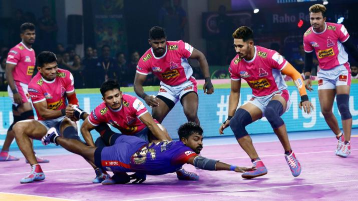 Jaipur Pink Panthers vs Puneri Paltan Live Match Streaming